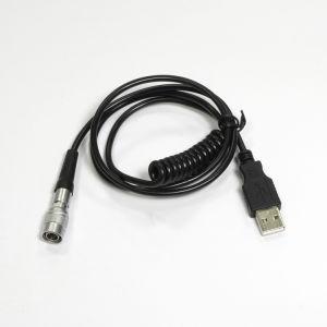 Date personnalisé de couleur du câble USB Câble métallique