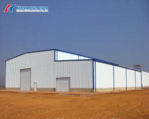 Estrutura de aço pré-fabricados para máquina de Luz Ambiente entreposto do galpão de explorações agrícolas