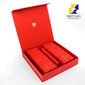 Ecológica Fsc 4c la impresión de la tapa y la caja de papel de la base de Mooncake Embalaje Embalaje