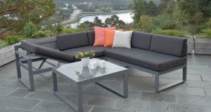 Outdoor Garden Patio définit l'hôtel Loisirs canapé en aluminium Chaise longue Président meubles extérieurs en usine, le sofa peut être ajustée en changeant la séance d'administration