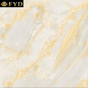 De gele Tegel van de Vloer van de Jade van Inkjet (FQA2037P)