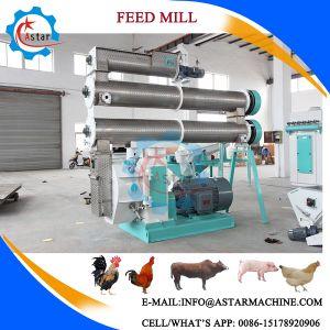 Il bestiame del bestiame del pollo di fabbricazione della Cina pesca la pallina dell'alimentazione del laminatoio della pallina dell'alimentazione animale del maiale del pollame che fa la macchina