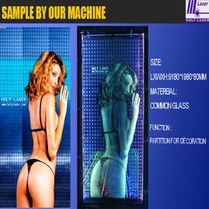 Machine de gravure de grande taille de laser (HSGP-LA)