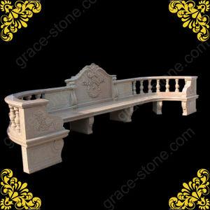 庭Decoration (GS-TB-029)のための大きいMarble Bench