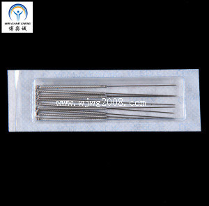 L'Acupuncture aiguille avec poignée Steel-Wire avec boucle (AN-11)