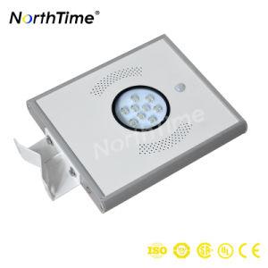 Helles AN/AUS-esteuertes durch das automatische Tageslicht LED-Solarstraßenlaterneerfassend