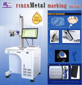 laser Marking Machine de 20W Multifuntional Fiber (universel)