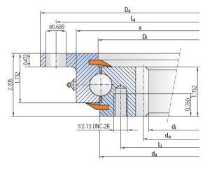 Herumdrehenring internes gezahntes 92-20-0941/0-37262 der IMO-Serien-920