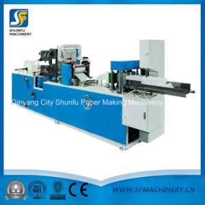 Nuevo estilo de la máquina de fabricación de papel Servilleta plegable de Qinyang Shunfu maquinaria