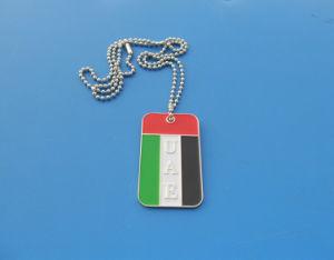 Collana molle della modifica di cane della bandierina dei UAE dello smalto, modifica di cane di Gits di giorno nazionale dei UAE