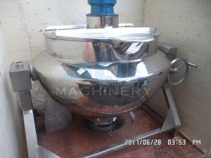Caldaia rivestita del riscaldamento di vapore dell'acciaio inossidabile con l'agitatore della ruspa spianatrice (ACE-JCG-063184)