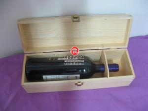 Vino de madera caja de embalaje para la boda