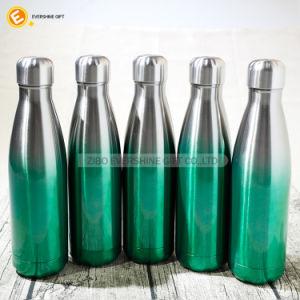 Food Grade 17oz Imprimé à isolation sous vide bouteille d'eau en acier inoxydable
