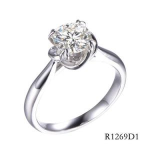 925 Sterling Silver anel clássico com CZ para Mulheres