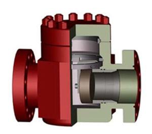 """ASTM 4130 1-13/16"""" 3000фунтов на поворотный клапан API 6A на месторождении"""