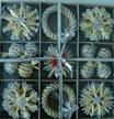 De Ornamenten van Kerstmis van het stro (HR05-012)