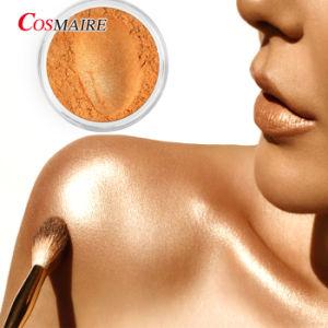 Pigmento cosméticos Mica em pó de ouro em pó Destaque Private Label Espelho