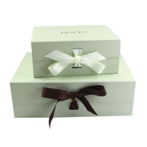 Boîte de carton rigide personnalisée fermeture magnétique pliable de repliage d'emballage les emballages papier boîte cadeau pour les vêtements et vêtements/cosmetic/Les arts et métiers/chaussures/Candle/Rose/don