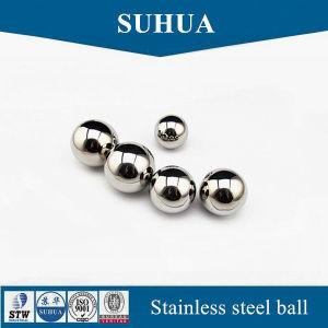 AISI304 6.747mm 17/64'' la bola de acero inoxidable sólido