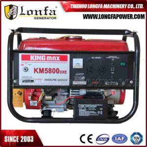 Kingmax Japón inició la tecnología de auto generador de gas Gasolina 6kVA.