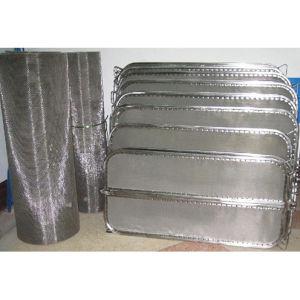 Strumentazione verticale del filtrante del foglio per il filtro dell'olio