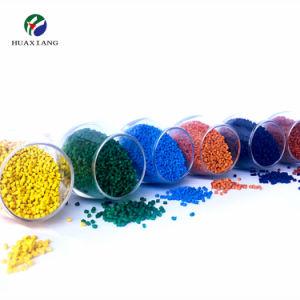 Los gránulos de plástico de color diferencia Masterbatch de fundido