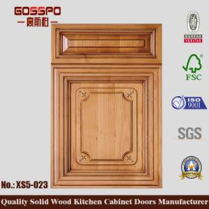 Klassische Art-hölzerne Tür für Kithcen Schrank (GSP5-035)