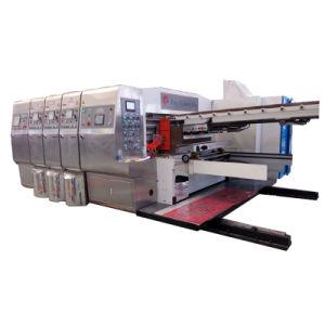Absorção de toda a impressão Flexo Soltting Die máquina de corte