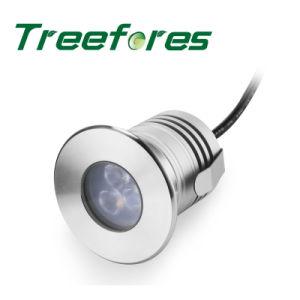IP68 3W 12V 24V CREE LED heller Scheinwerfer des Lampen-Garten-LED