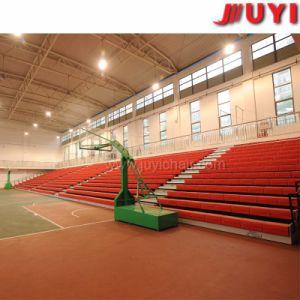 Sedi di banco di plastica della disposizione dei posti a sedere Jy-750 della tribuna di ginnastica della tribuna dell'interno di plastica ritrattabile telescopica dei Bleachers