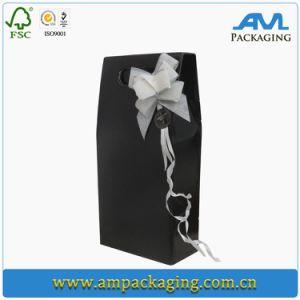 Жесткий футляр водки упаковки картонных бумаги в салоне вино в подарочной упаковке Custom