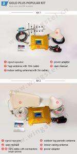 De Banda dual GSM/DCS Amplificateur 900/1800MHz amplificador de red móvil con pantalla LCD