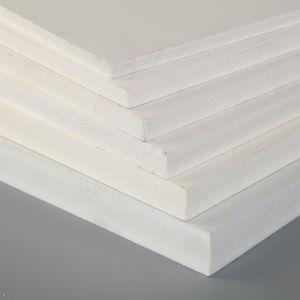 El blanco y el colorido de materiales de construcción de la junta de espuma de PVC hojas de PVC para la detección de la impresión