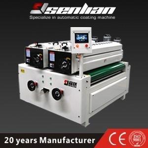 Doppia macchina di rivestimento UV del rullo