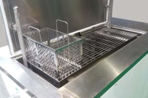 Напряженная металлических деталей более чистого промышленного ультразвукового очистителя