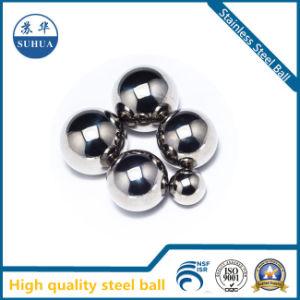 Sfera 3.175mm dell'acciaio inossidabile del metallo 316 di precisione di prezzi bassi piccola