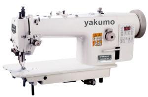 Bloqueio de alimentação superior e inferior Stitch Rosca automático integrado para Serviço Pesado Direct-Drive Aparador de máquina de costura