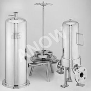 Custodia di filtro sanitaria della cartuccia dell'acqua del SUS 316L