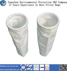 Poliéster que filtra sacos de filtro materiais da poeira, saco de filtro da poeira do poliéster