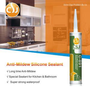 Anti-Mildew sellante de silicona para el cuarto de baño lavabo