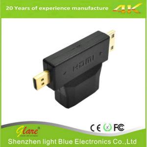 HDMI 2 en 1 mini HDMI + Micro adaptador HDMI