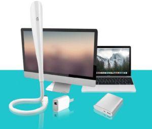 Lámpara LED USB portátil para USB y puerto micro USB