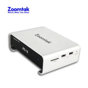 Nuevo Zoomtak T8u la caja de metal Amlogic S905 4k Kodi 16.1 EL DISCO DURO SATA soporte inteligente Android TV Box