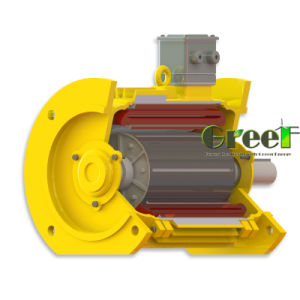 Brushless Permanente Magneet Alternator200kw, 350rpm van de direct-aandrijving