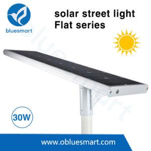 Bluesmart 30Wの屋外の太陽球根が付いている太陽街灯