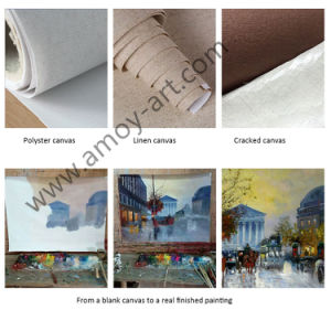 壁の装飾のためのヨーロッパ式の抽象的な油絵