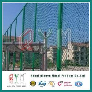 電流を通される/PVC上塗を施してあるチェーン・リンクの卸売塀のパネル