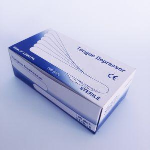 Высокое качество медицинского класса стерильной упаковки деревянные нажимной элемент золотника дышла