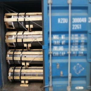 Grado de UHP de electrodos de grafito de carbono de alta calidad para la fundición hornos de arco eléctrico para la venta