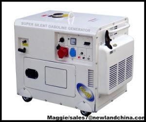 Generatore della benzina di Caldo-Vendita 5kw Silient con l'inizio elettrico (GG6500DSE)